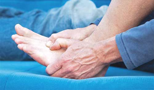 Pain on the top of the foot could be Tendonitis