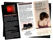 Laser Therapy Brochure Back